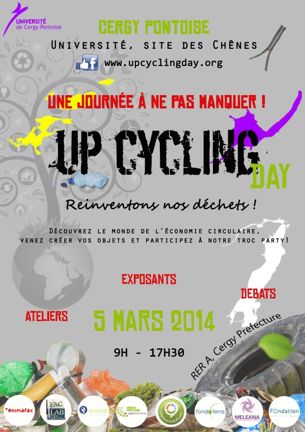 Upcycling Day : le 5 mars à Cergy-Pontoise