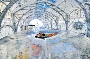 Tomas Saraceno Cloud city